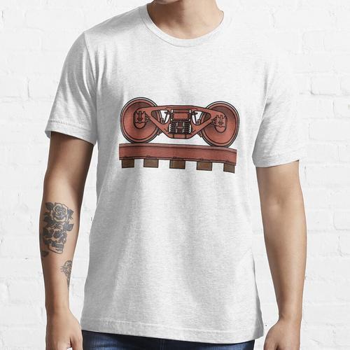 Eisenbahnwagen / Eisenbahn Bogie Essential T-Shirt