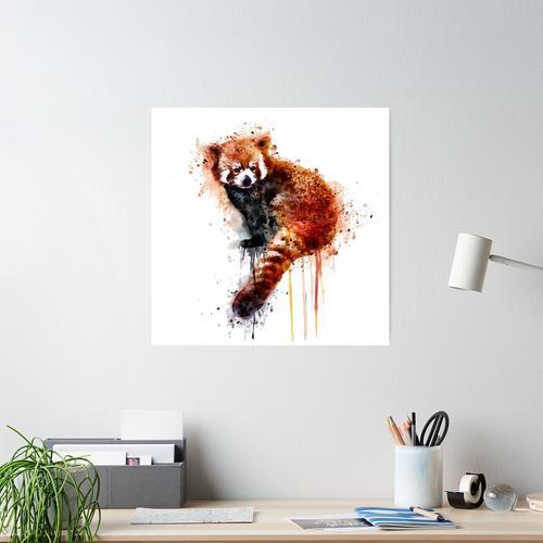 Roter Panda Poster