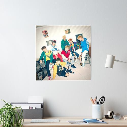 BTS MIC Tropfen / DNA / Kristallschnee Poster