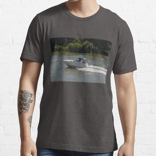 Leistungsstarkes Motorboot Essential T-Shirt