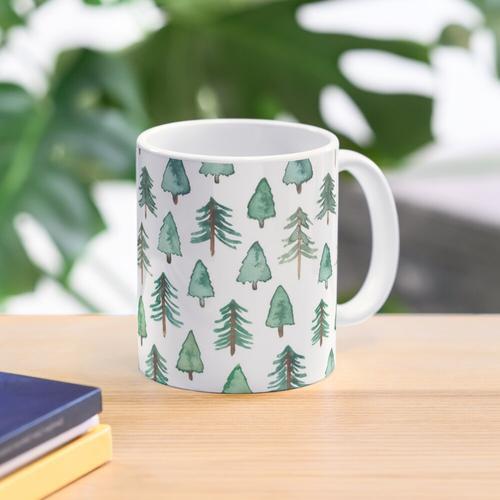 Winter Bäume Tasse