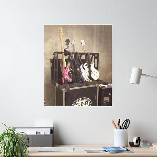 5SOS-GITARREN Poster