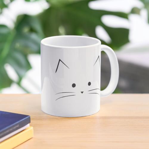weil Katzen. Tasse