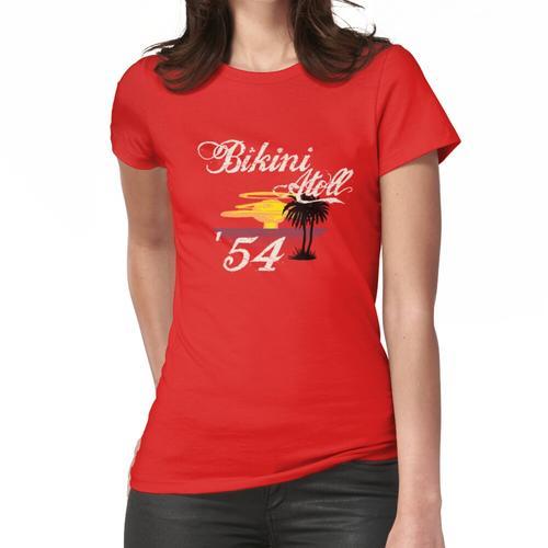 Bikini-Atoll Frauen T-Shirt