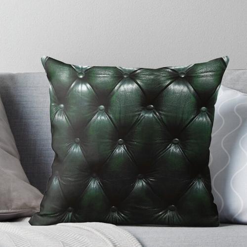 Chesterfield Grün Kissen