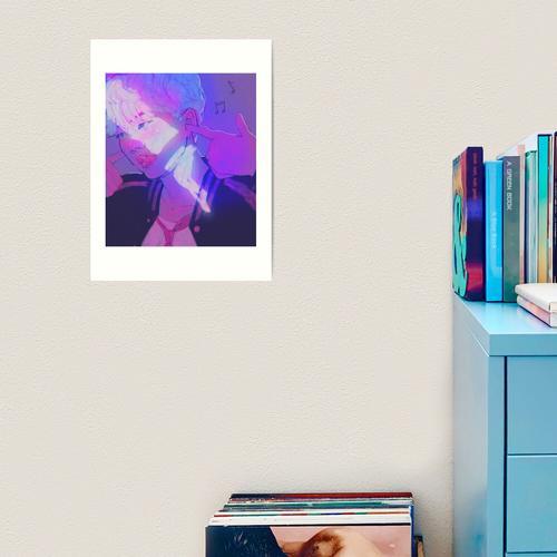 Yoongi - The Audacity Kunstdruck