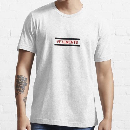 Vetements Socke Logo Essential T-Shirt