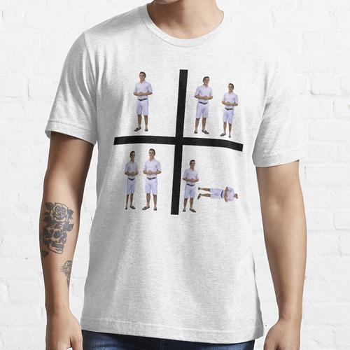 Verlustleistung Glücklicher Luciano Essential T-Shirt