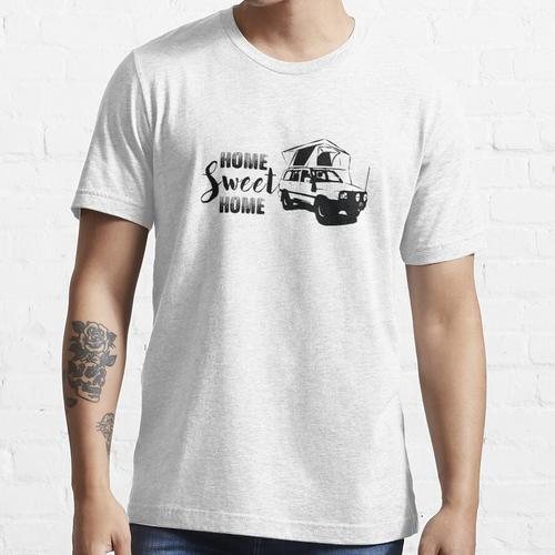 Landcruiser - 4x4 - Dachzelt - Camping - Allrad - Outdoor - Home Sweet Home Essential T-Shirt