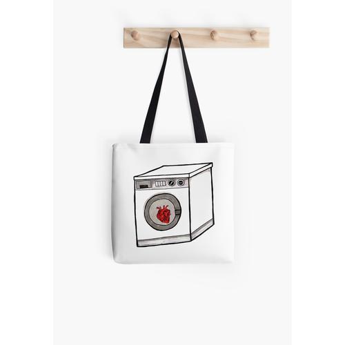 Waschmaschine Herz Tasche