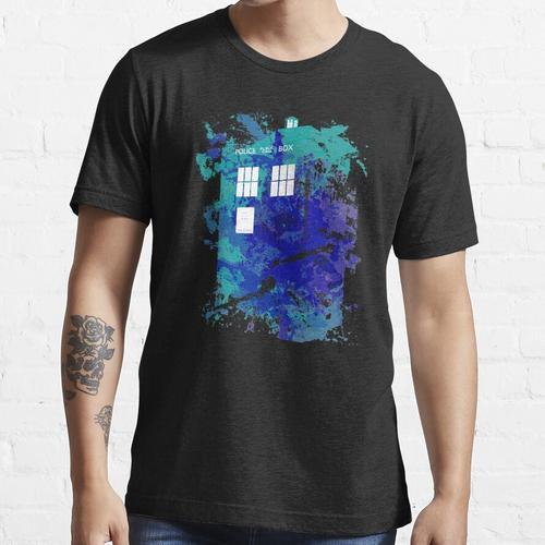 Opazität TARDIS Essential T-Shirt