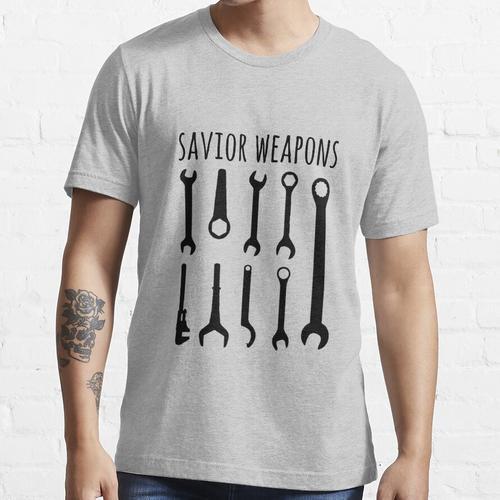 Retter-Waffe - lustige Mechaniker-Hemden - Mechaniker-Hemd - Mechaniker-Geschenk Essential T-Shirt