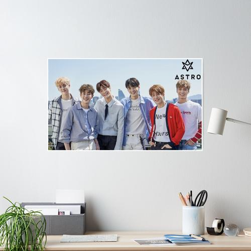 Astro Kpop Poster Poster