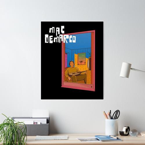 Mac Demarco Fenster Poster