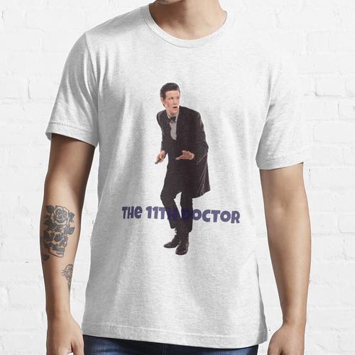 Das 11. Doktor T-Shirt und Aufkleber von MyLittleFandoms Essential T-Shirt