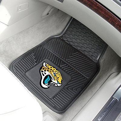 "Jacksonville Jaguars Heavy Duty 2-Piece Vinyl Car Mats 18""x27"""