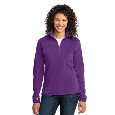 Port Authority Women's Microfleece 1/2 Zip Pullover XXL Amethyst Purple