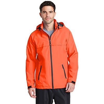 Port Authority Torrent Waterproof Jacket J333 Orange Crush Large