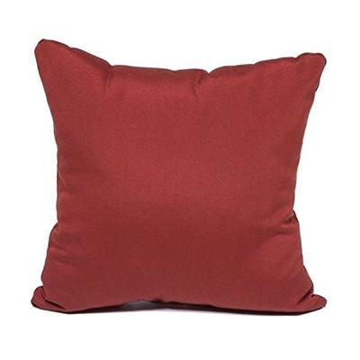 TKC Outdoor Throw Pillows Square in Terracotta (Set of 2)