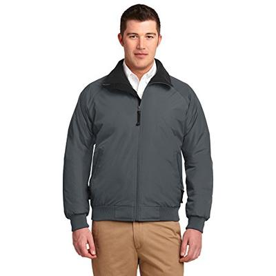 Port Authority Challenger Jacket. J754 Steel Grey/True Black 4XL
