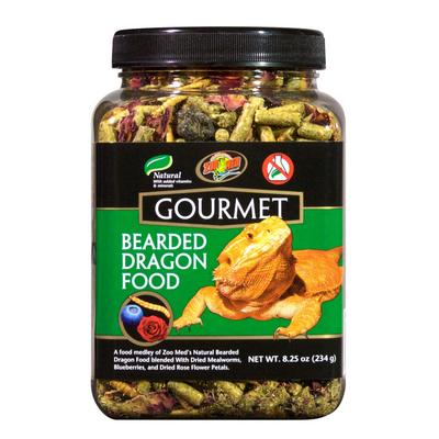 Zoo Med Gourmet Bearded Dragon Food, 8.25 oz