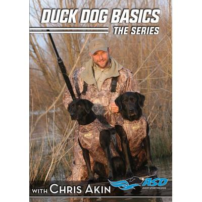 """""""Avery Sporting Dog Instructional Videos & DVDs Duck Dog Basics Combo Packs Instructional Video / DVD"""""""