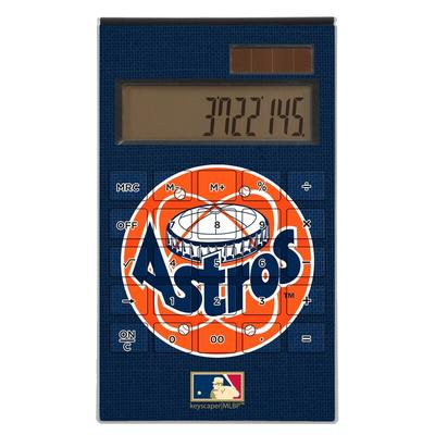 """Houston Astros 1977-1998 Cooperstown Solid Design Desktop Calculator"""