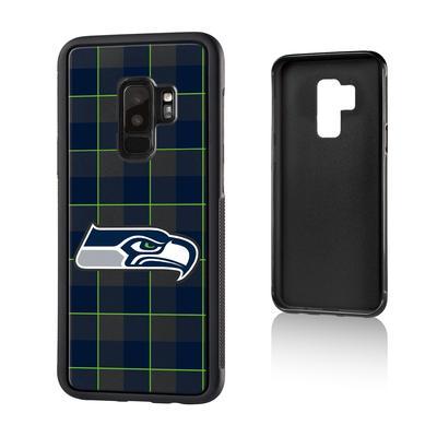 Seattle Seahawks Galaxy Plaid Design Bump Case