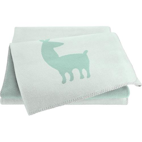 BIEDERLACK Babydecke Alpaca grün Baby Babydecken Decken