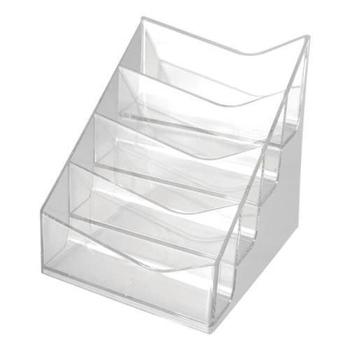 2er Pack Visitenkartenständer »the helpdesk«, helit, 9.9x10.6x10.4 cm