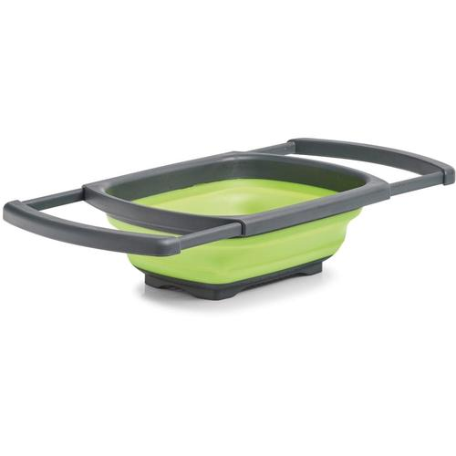 Zeller Present Seiher, ausziehbar grün Kochen Backen Seiher