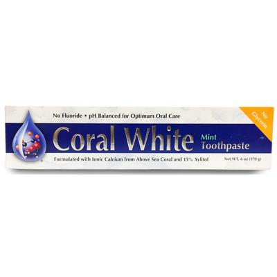 Coral LLC Coral White Mint Toothpaste 6 oz (170 g)