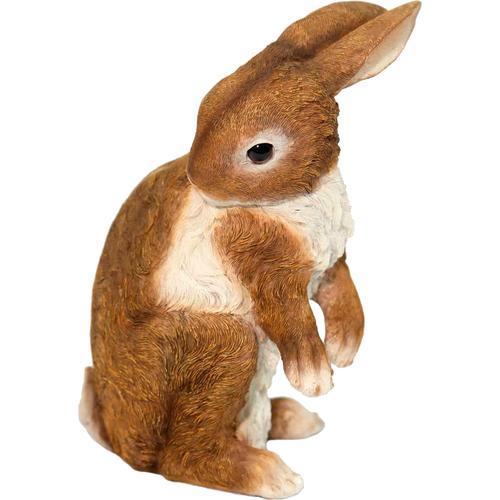 Casa Collection by Jänig Tierfigur, Hase stehend, Höhe ca. 27 cm braun Tierfigur Tierfiguren Figuren Skulpturen Wohnaccessoires