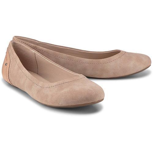 Esprit, Aloa Ballerina in rosa, Ballerinas für Damen Gr. 38