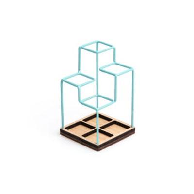 Block Design - Desk Tidy - Blue ...