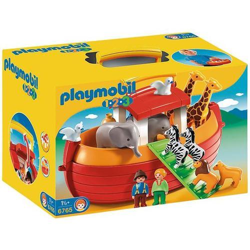 PLAYMOBIL® 1.2.3 6765 Meine Mitnehm-Arche Noah, bunt