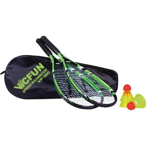 Speed-Badminton-Set, orange