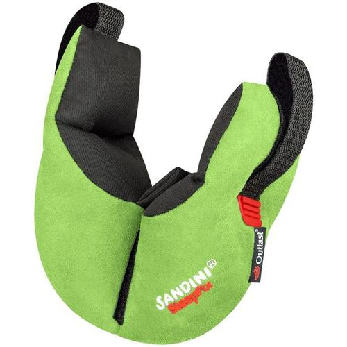 SANDINI® SleepFix® Kids Outlast®, Schlafkissen mit Stützfunktion, grün