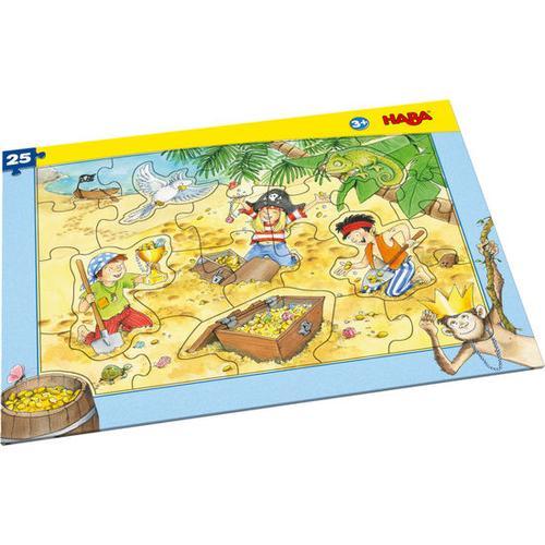 HABA Rahmenpuzzle Piratengold, bunt