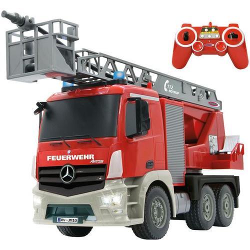 Feuerwehr Drehleiter Mercedes Antos, rot