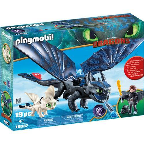 PLAYMOBIL® Dragons 70037 Ohnezahn und Hicks Spielset, bunt