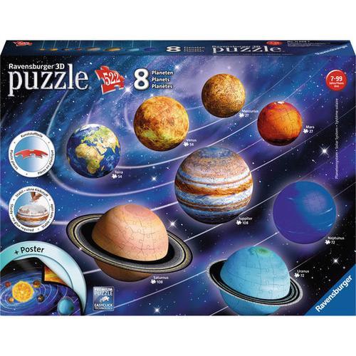 3D Puzzle® Planetensystem, bunt