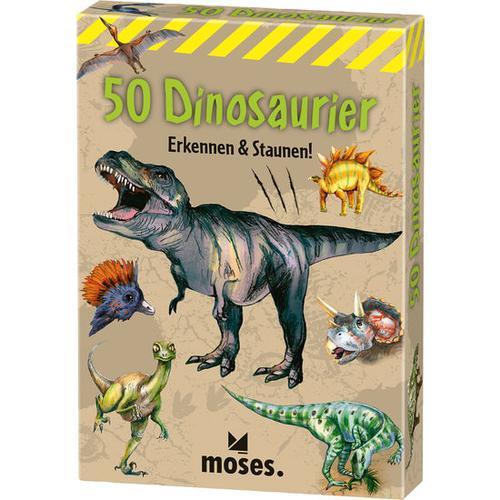 JAKO-O 50 Dinosaurier erkennen & staunen, bunt