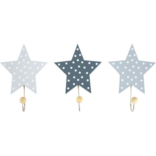 JAKO-O Wandhaken Sterne, grau