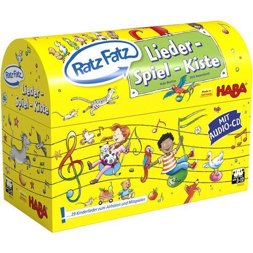 HABA Ratz Fatz Lieder-Spiel-Kiste, bunt