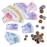 Euro-Spielgeld, bunt