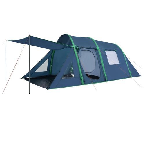 vidaXL Campingzelt mit aufblasbaren Stangen 500×220×180 cm Grün