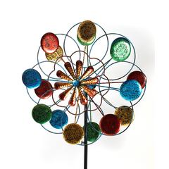 The Gerson Company Garden Stakes - Red & Blue Spinner Garden Stake