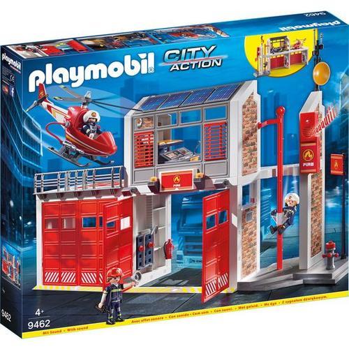 PLAYMOBIL® City Action 9462 Große Feuerwache, rot