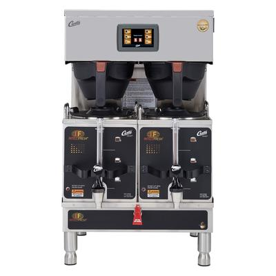 Curtis G4GEMTIF10A1000 Automatic Twin Satellite Coffee Brewer w/ 1 1/2 gal Capacity & Dispenser, 220v/1ph